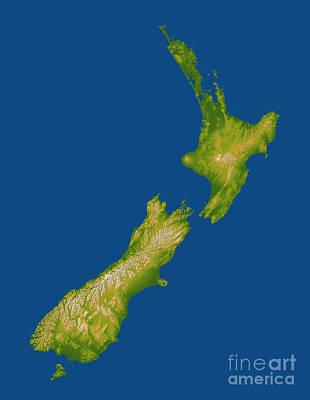 New Zealand Art Print