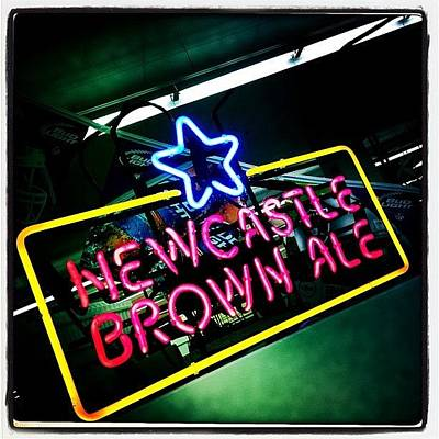 Beer Wall Art - Photograph - Newcastle by Torgeir Ensrud