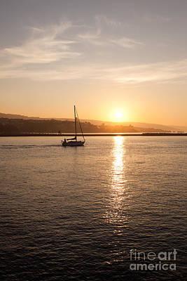 Newport Bay Corona Del Mar Sunrise Art Print by Paul Velgos