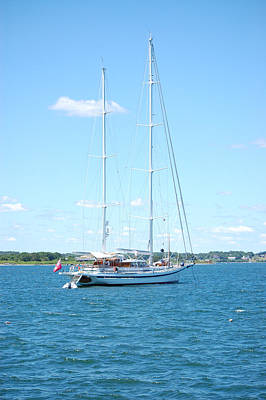 Photograph - Newport Ri Summer Day II by Mary McAvoy