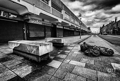 Real Life Photograph - News Flash Its A Ghost Town by John Farnan