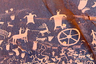 Photograph - Newspaper Rock by Pamela Walrath