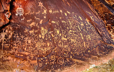 Photograph - Newspaper Rock by Robert Bales