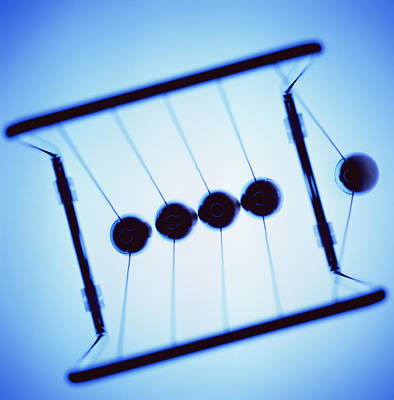Invention Of Motion Photograph - Newton's Cradle by Kevin Curtis