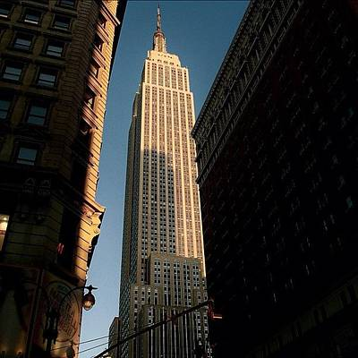 Skyscrapers Wall Art - Photograph - #newyorker #newyork #ny #empire by Joel Lopez