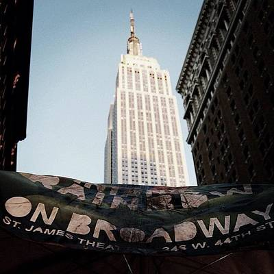 Skyline Wall Art - Photograph - #newyorker #newyork #ny #empirestate by Joel Lopez