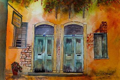 Painting - Next Door Neighbours by Harold Kimmel