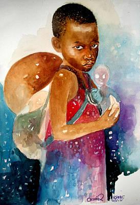 Next Of Kin Art Print by Okwir Isaac
