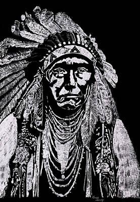 Nez Perce Art Print by Jim Ross