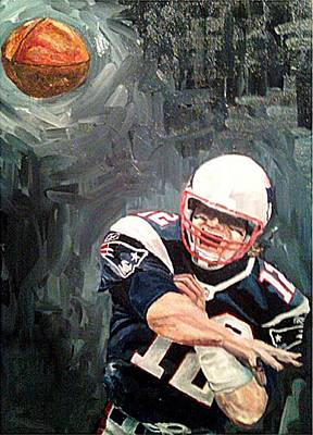 Painting - Nfl Portrait by Andrew Hench