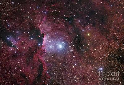 Target Threshold Watercolor - Ngc 6188, Starforming Region In Ara by Robert Gendler