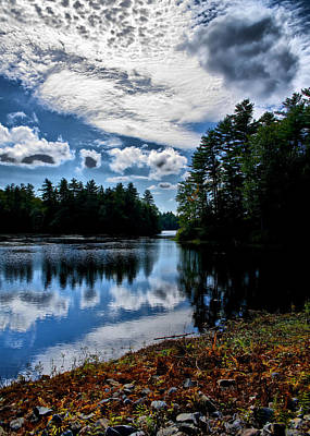 Photograph - Nh Lake 2 by Edward Myers