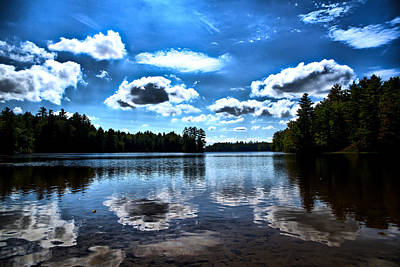 Photograph - Nh Lake 4 by Edward Myers