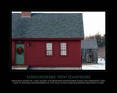 Nh Old Homes Art Print by Jim McDonald Photography