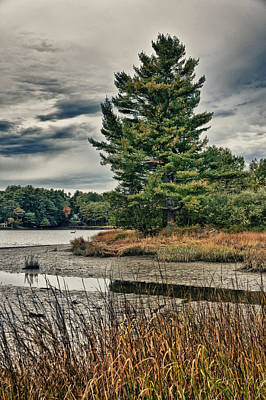 Photograph - Nh Waterway 3 by Edward Myers