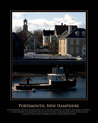 Photograph - Nh Working Harbor by Jim McDonald Photography