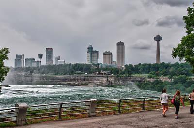 Photograph - Niagara Falls - Canada by Guy Whiteley