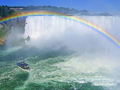 Royalty-Free and Rights-Managed Images - Niagara Falls by Evelina Kremsdorf