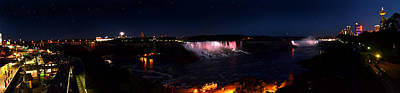 Photograph - Niagara Falls Panoramic by Rafay Zafer