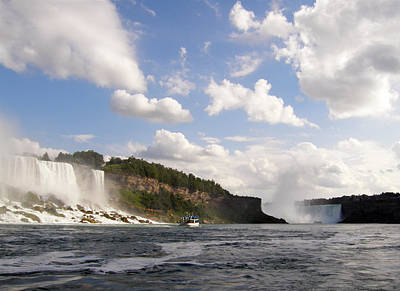 Photograph - Niagara Falls View From The Maid Of The Mist by Mark J Seefeldt
