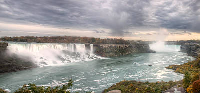 Photograph - Niagara by Josef Pittner