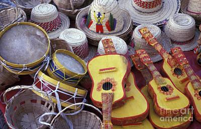 Photograph - Nicaraguan Handicrafts by John  Mitchell