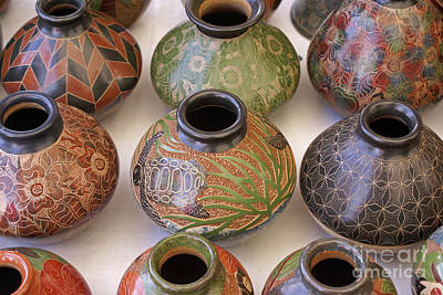 Photograph - Nicaraguan Pottery Pueblos Blancos Nicaragua by John  Mitchell