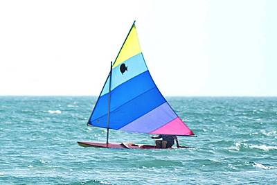 Photograph - Nice Day For A Sail by Joe Faherty