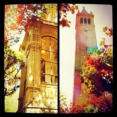 Apple Wall Art - Photograph - Nice Digs Near The Campanile - Uc Berkeley Ca by Anna Porter