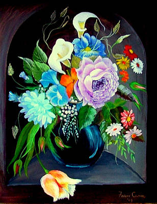 Painting - Niche by Fram Cama