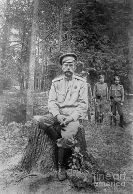Nicholas II, Last Emperor Of Russia Print by Photo Researchers