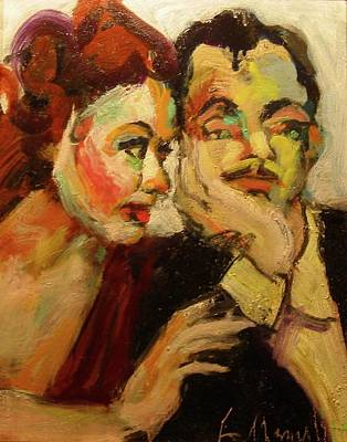Painting - Nick And Nora by Les Leffingwell