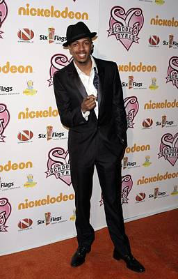 Nick Cannon Photograph - Nick Cannon At Arrivals For Nickelodeon by Everett