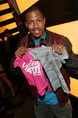 Nick Cannon Photograph - Nick Cannon At Arrivals For Pussycat by Everett