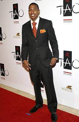 Nick Cannon Photograph - Nick Cannon At Arrivals For Tao Las by Everett