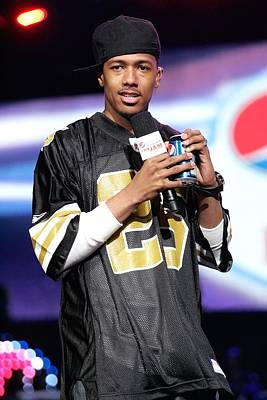 Nick Cannon Photograph - Nick Cannon On Stage For Pepsi Fan Jam by Everett