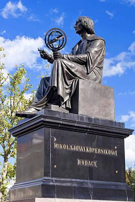 Nicolaus Copernicus Print by Fernando Barozza