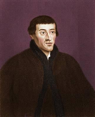 Nicolaus Copernicus, Polish Astronomer Print by Maria Platt-evans