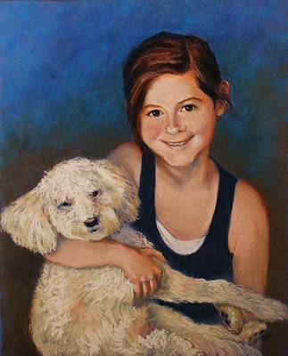 Painting - Nicole And Joey by Peggy Wrobleski