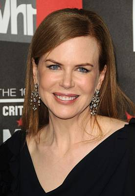 Chandelier Earrings Photograph - Nicole Kidman At Arrivals For 16th by Everett