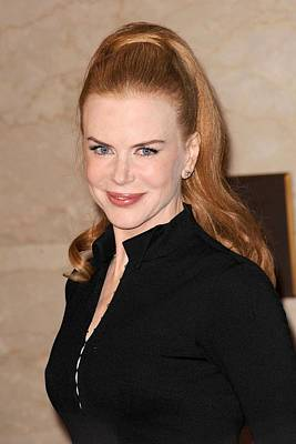 Nicole Kidman At In-store Appearance Art Print by Everett