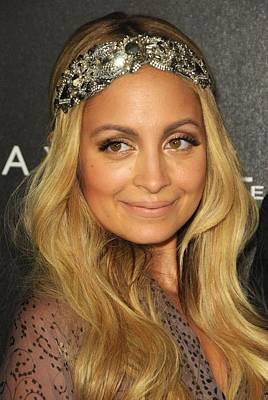 Nicole Richie At A Public Appearance Art Print by Everett