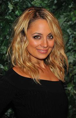 Smoky Eyes Photograph - Nicole Richie At Arrivals For Qvc Red by Everett