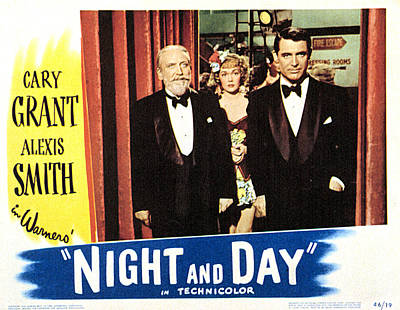 Night And Day, Monty Woolley, Jane Art Print by Everett