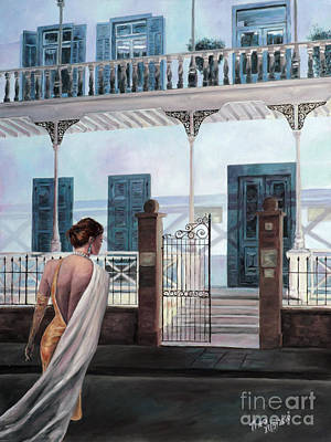 Larnaca Painting - Night At The Museum by Theo Michael