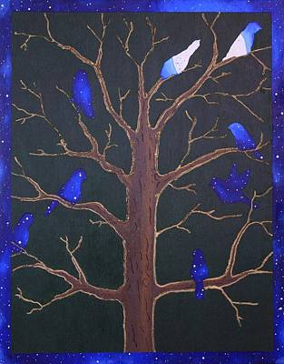 Painting - Night Birds by Jennifer Lynch