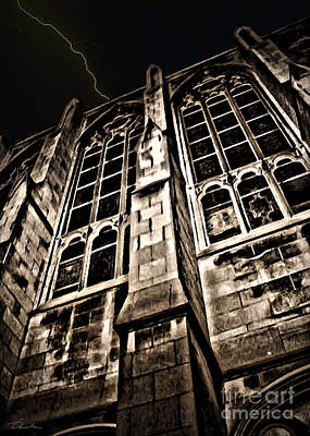 Photograph - Night Castle by Danuta Bennett