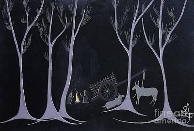 Night Halt Art Print