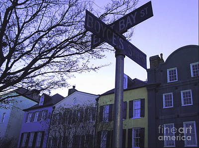 Art Print featuring the photograph Night In Savannah by Andrea Anderegg