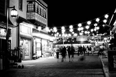 Black And White Photograph - Night Life by Aron Kearney